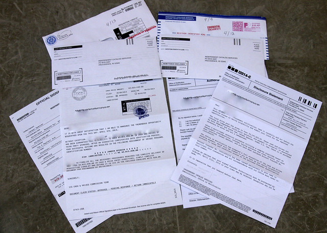 Scam from Independent Catalog Services PO Box 6487 Providence, RI 02940