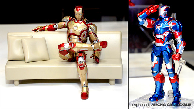 Tamashii Nations Summer Collection 2014 - S.H.Figuarts Iron Man Mark 42 & Iron Patriot