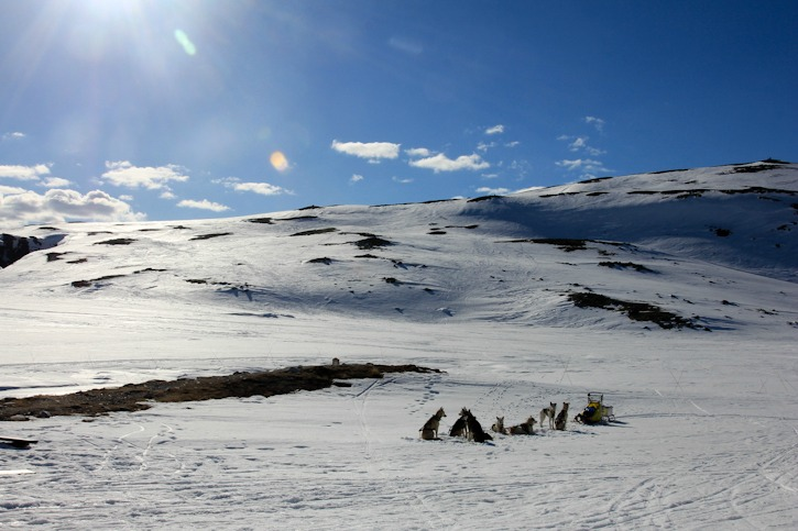 Skitouring in the Rondane National Park, Norway