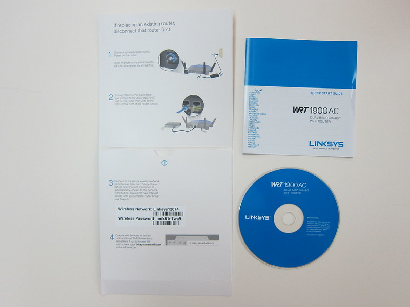 Linksys WRT1900AC - Manuals