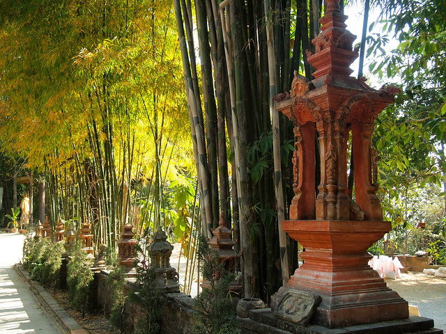 Wat Pha Lat in Chiang Mai, Thailand