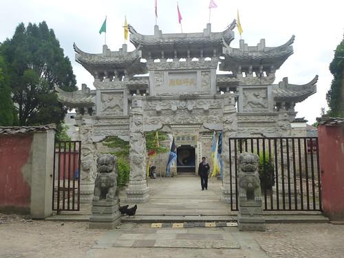 Jiangxi-Longhu Shan-2 Shangqing-temples taoistes (6)
