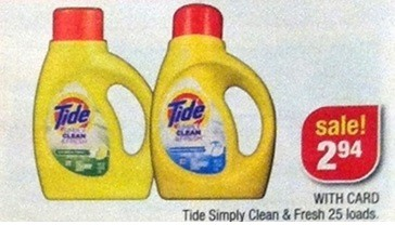 picture regarding Tide Simply Clean Printable Coupons named Tide Quickly New Refreshing Accurately $1.94 at CVS with Printable