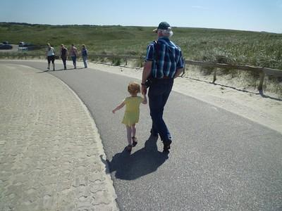 Abby met opa