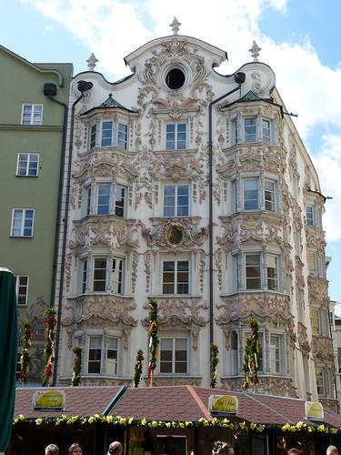 Rococo house in Innsbruck