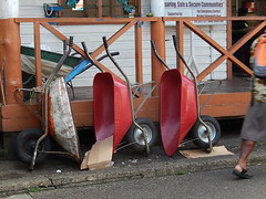 Wheelbarrows x 3