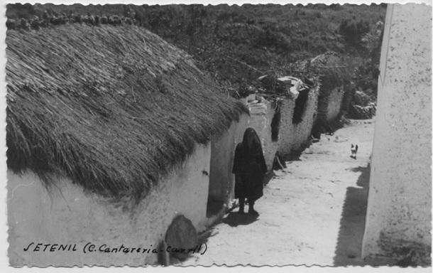 El Carril. Esta imagen refleja la modestia de las viviendas tradicionales en este barrio.