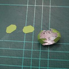 วิธีทำโมเดลกระดาษคุกกี้รสคุกกี้แอนด์ครีม  (Cookie Run Cream Cookie Papercraft Model) 015