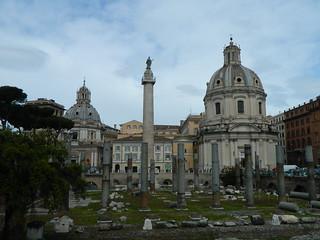 Basilica Ulpia の画像. italy rome roma church al ruins maria basilica foro di column nome 2014 traiano ulpia trajans santissimo