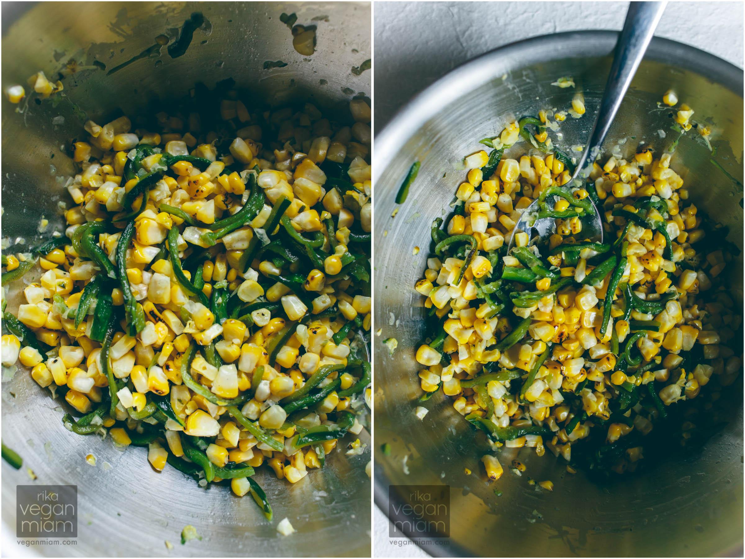 Roasted Corn and Poblano