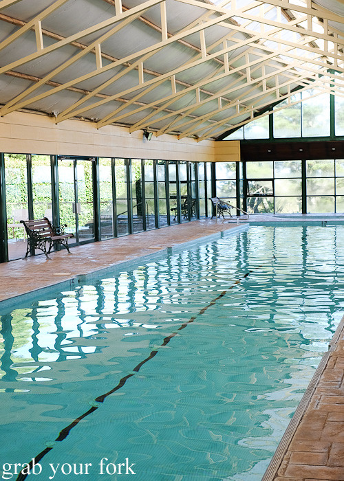 Indoor 25m heated pool at Solar Springs Health Retreat, Bundanoon