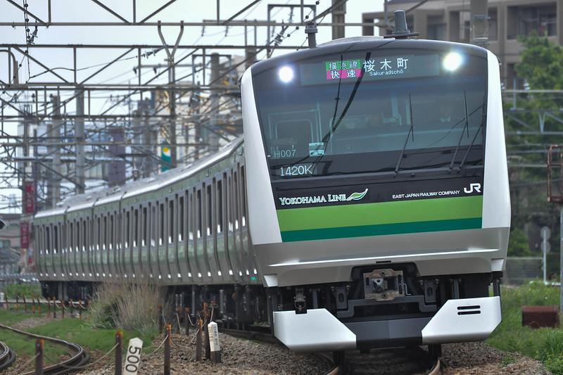 1420K Rapid Sakuragicho Series E233-6000 H007