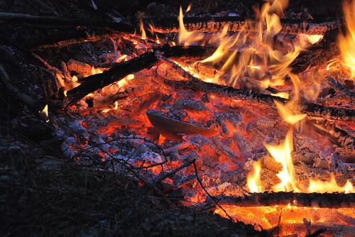 Pit kiln - alternative ceramic firing
