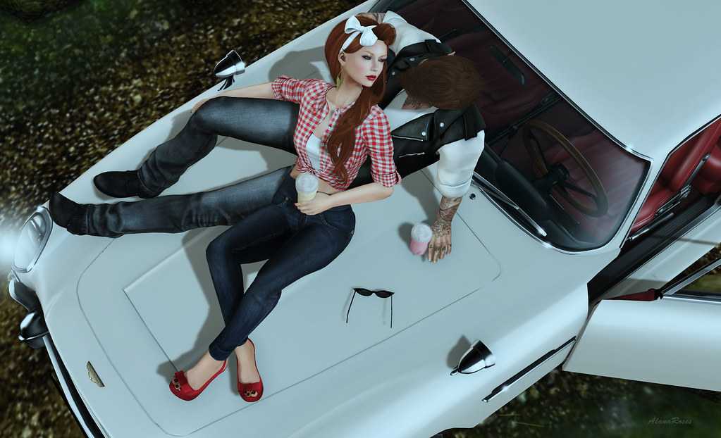 Sittin' on the hood of your car