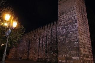 Muralla de los Reales Alcázares de Sevilla
