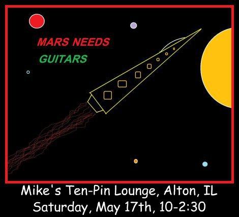 Mars Needs Guitars 5-17-14