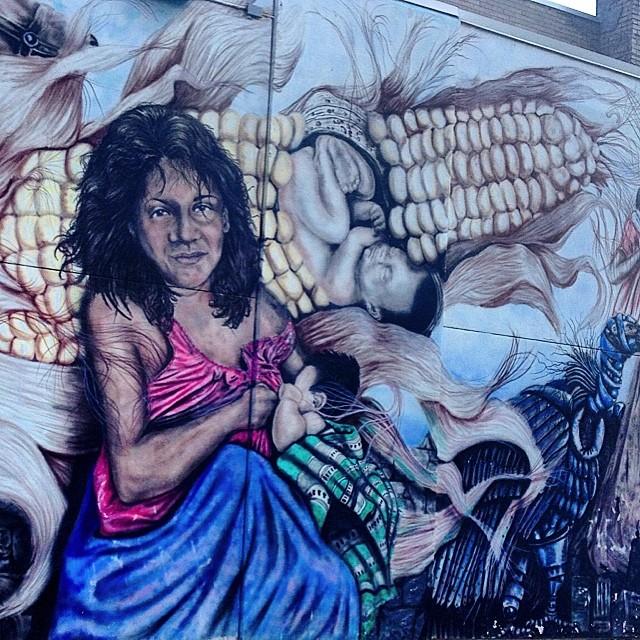 #streetart #graffiti in #flint #michigan #810