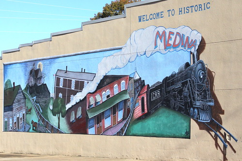 Welcome to Historic Medina mural