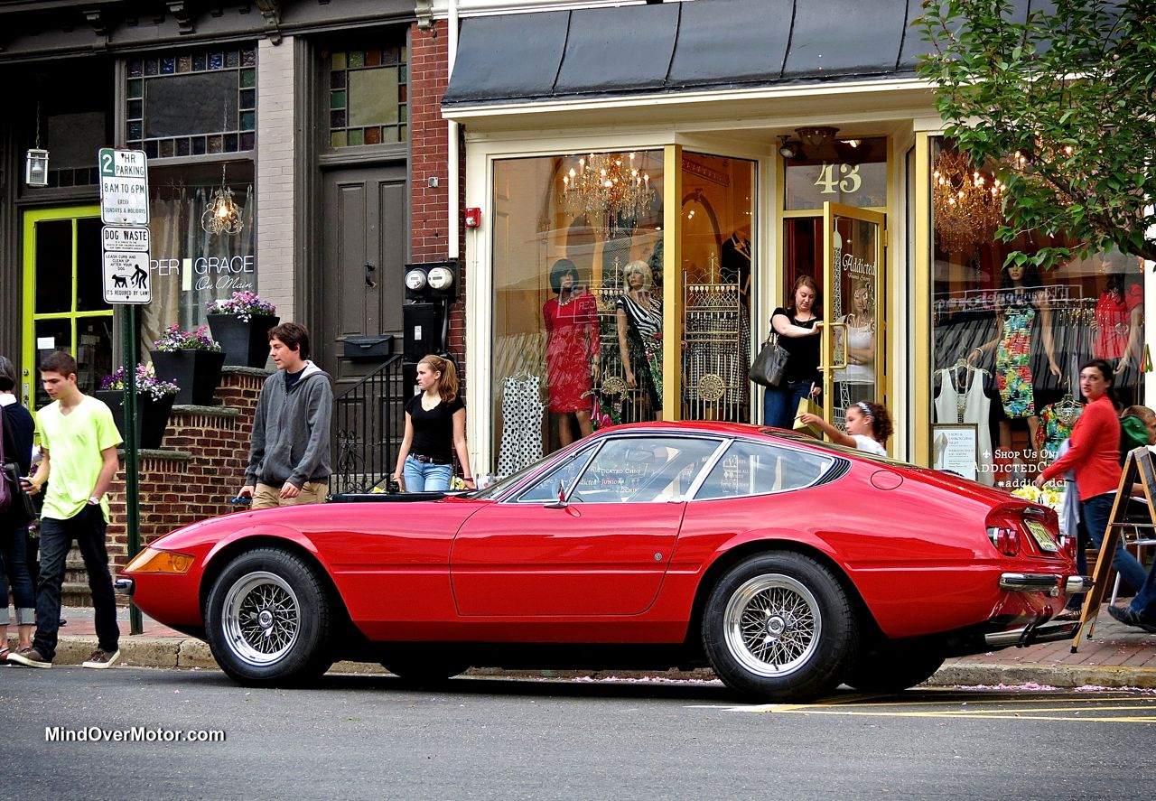 Ferrari 365 Daytona at Ladies and Lamborghinis