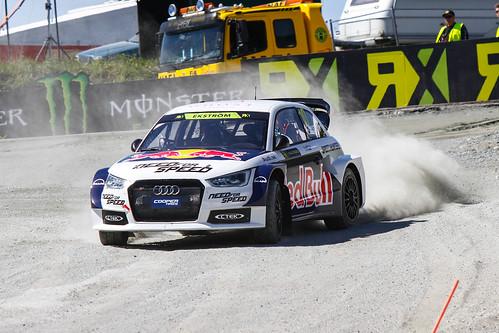 Mattias Ekstrom Campeonato del Mundo FIA de Rallycross RX Noruega 2014