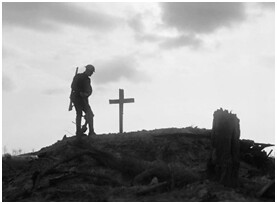 soldier & cross