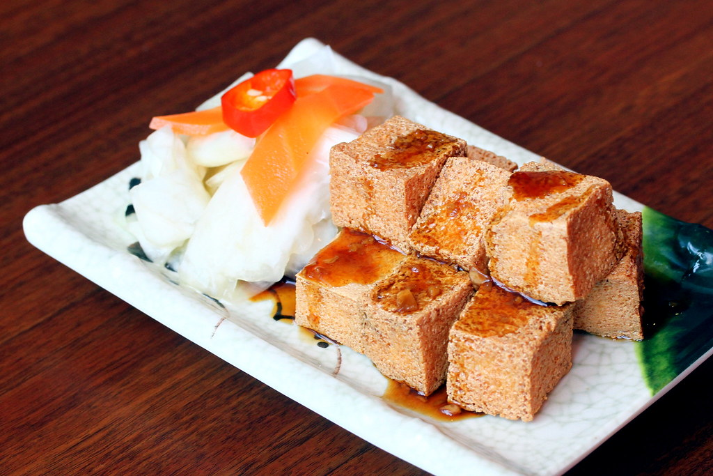 JEM Food Trail: Lee's Taiwanese Deep Fried Tofu with Taiwanese Kimchi