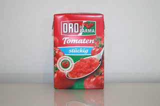 03 - Zutat Tomatenstücke / Ingredient tomato in pieces