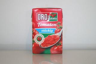 03 - Zutat Tomatenstücke / Ingredient tomato in pieces