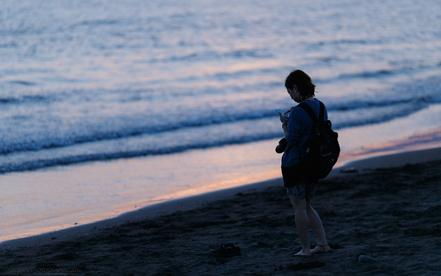江ノ島にはニコ女子が多い