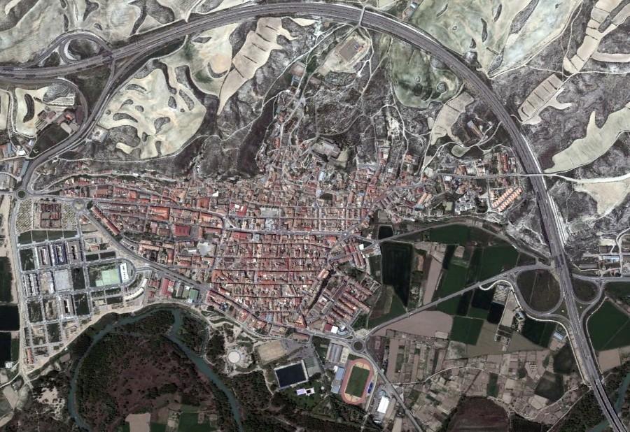 zuera, zaragoza, zuzón, después, urbanismo, planeamiento, urbano, desastre, urbanístico, construcción, rotondas, carretera