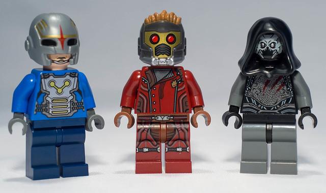 REVIEW LEGO 76019 Marvel Gardiens de la Galaxie - Le combat du Starblaster