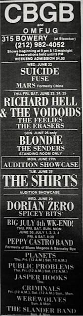 CBGB 6-22-77