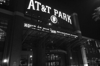 SF Giants - AT&T Park night