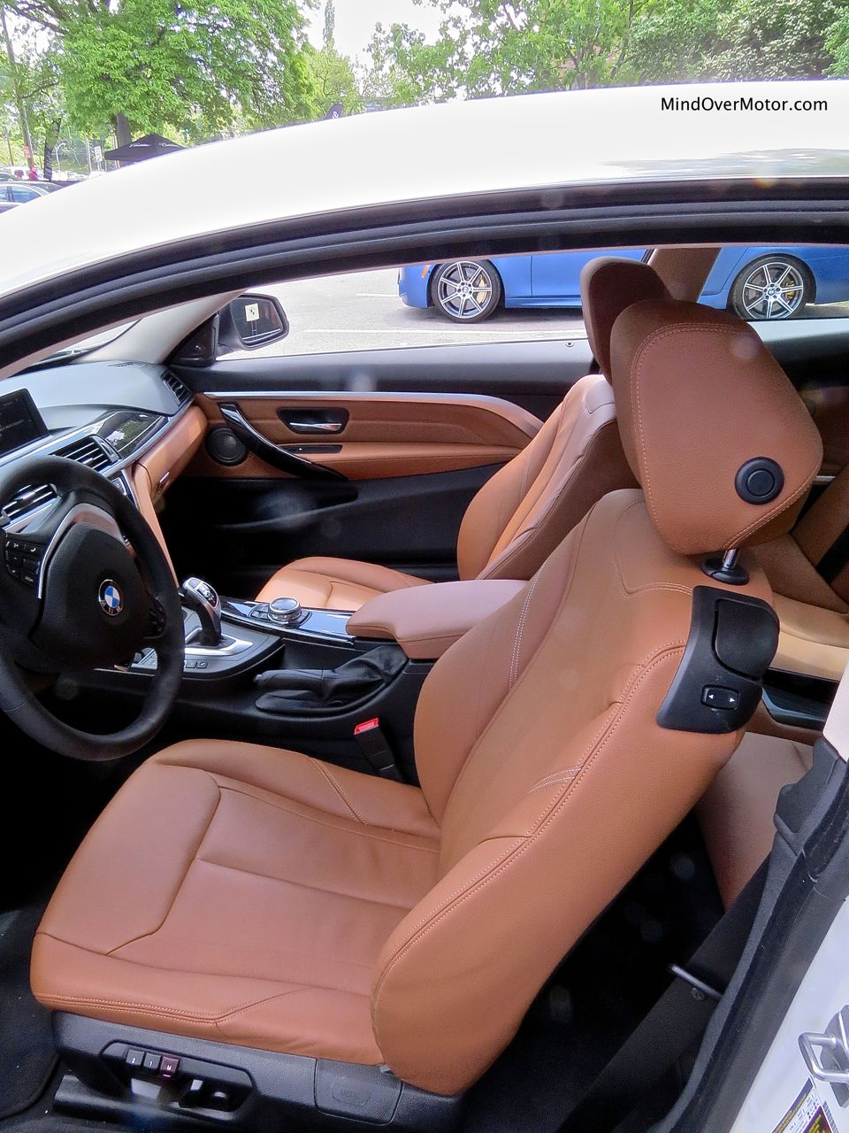 BMW 428i Front Seats