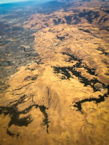 california ca usa mountain mountains landscape us view unitedstates over aerial calif hills cal diablo hayward northern range ilobsterit