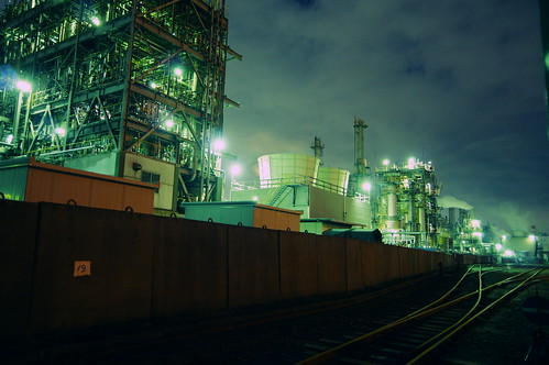Nightscape at Kawasaki Industrial Zone 12
