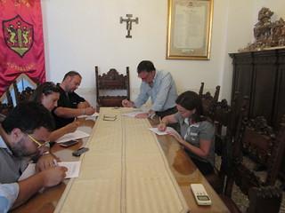 gli assessori alla firma dei decreti