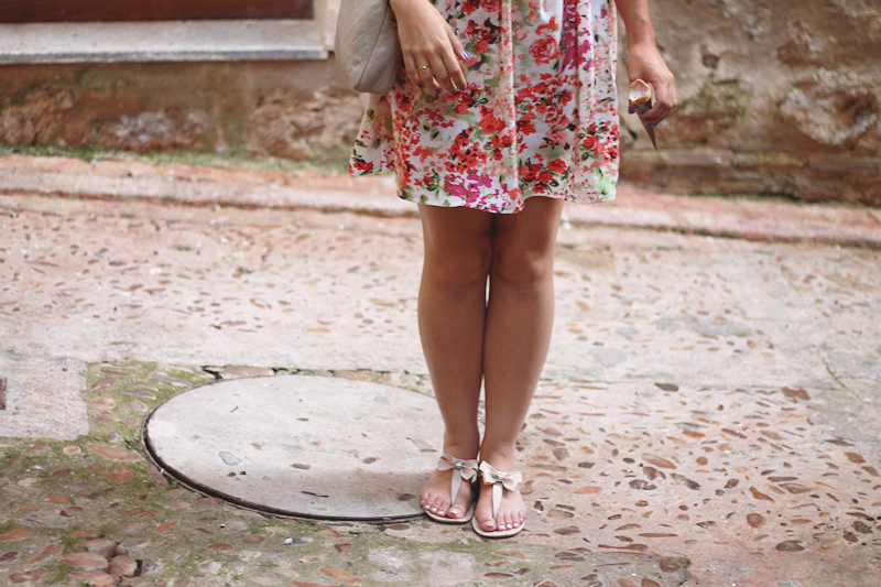 My new floral dress | Miss Ecl