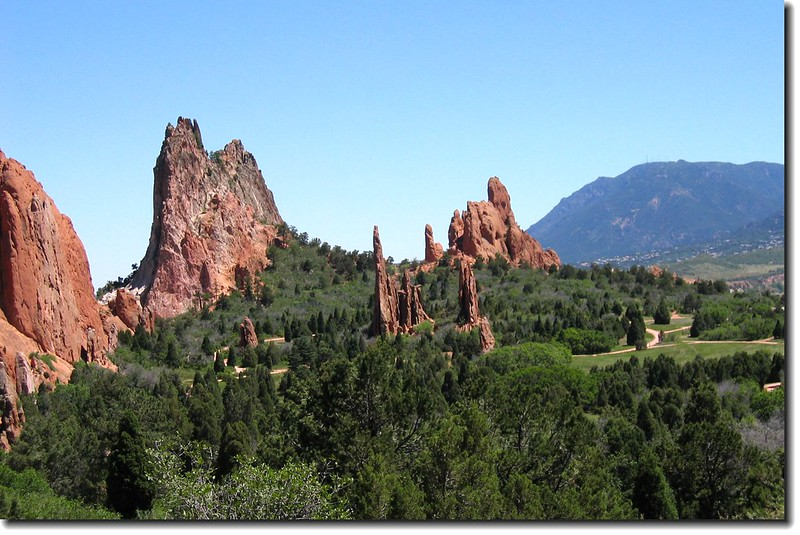Panorama of the Garden of the Gods 7