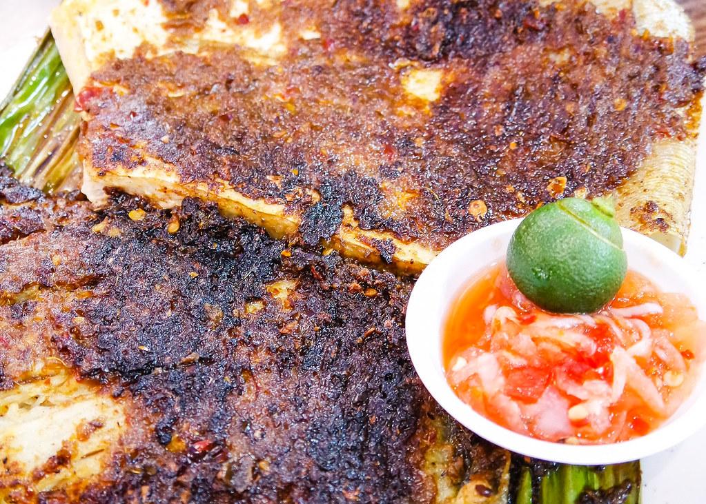 Chinatown Food Street: oon Tat Street BBQ Seafood's Sambal Stingray