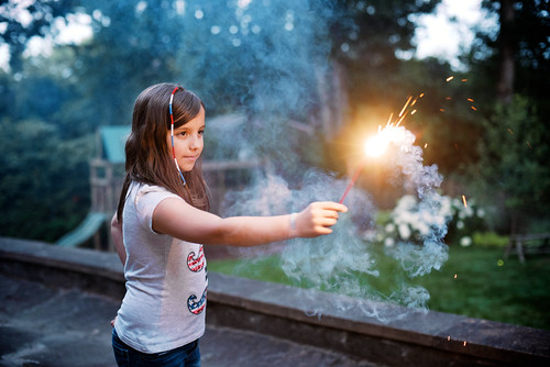 In my family, we take our sparklers very seriously.