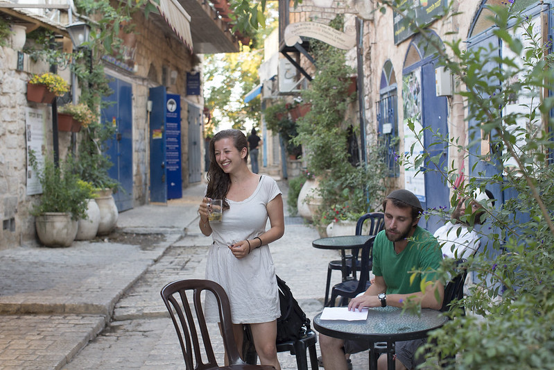 OUTDOOR CAFE IN SAFED_SD12IGA03408 - GALILEE_ITAMAR GRINBERG-IMOT