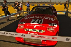 Porsche 935 Driven to Second Place Overall by Paul Newman, Rolf Stommelen and Dick Barbour at Le Mans in 1979