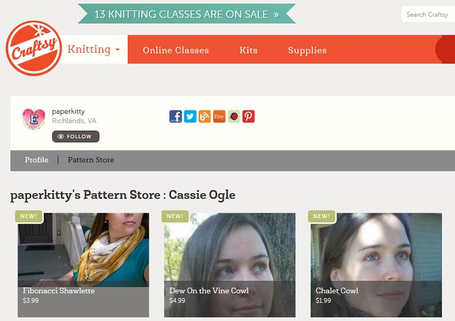 Now on Craftsy