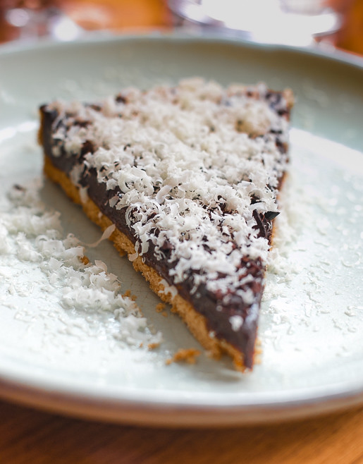 Le Servan Paris chocolate caramel tart