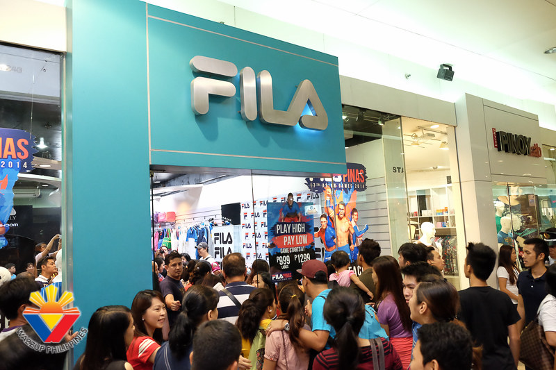 Fila Meet and Greet with Philippine Volcanoes Fabio Ide Te