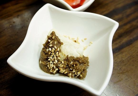日式烤麻糬甘味處08芝麻醬