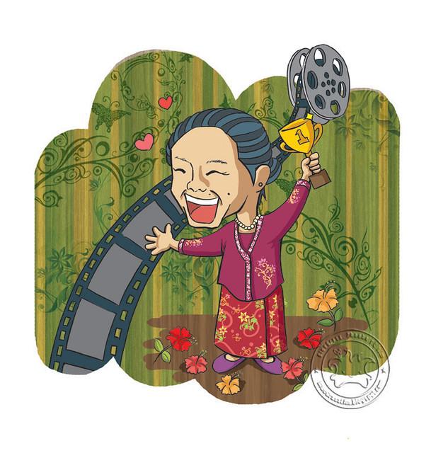 """TU Weekly #34 cover """"Perpaduan dalam filem - Yasmin Ahmad"""" - 2009"""