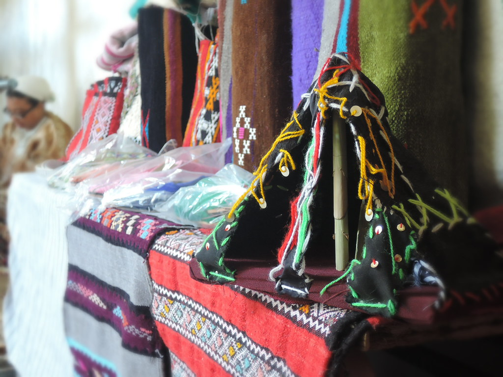 An Amazigh miniature tent