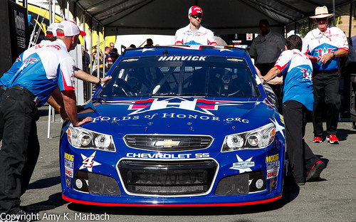 Kevin Harvick's Folds of Honor Paint Scheme at Sonoma